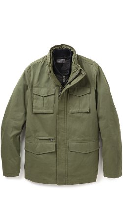 Vince - Military Waxed Cotton Jacket