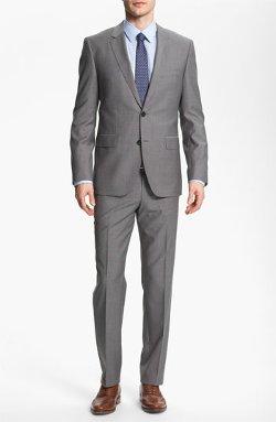 Boss Hugo Boss - James Sharp Trim Fit Wool Suit