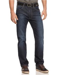 Armani Jeans - Wash Straight-Leg Jeans