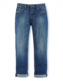 Ralph Lauren Childrenswear  - Boys Classic Blue Skinny Jeans