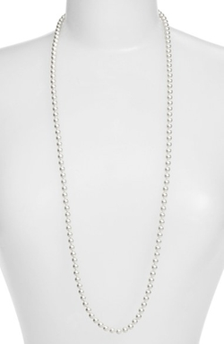 Nadri - Faux Pearl Long Necklace