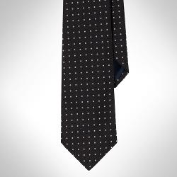 Polo Ralph Lauren  - Regency Dotted Repp Tie