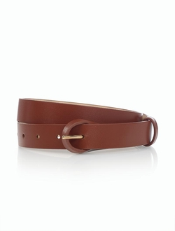 Talbots - Leather Loop-Buckle Belt
