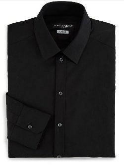 Dolce & Gabbana - Solid Dress Shirt