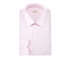 Neiman Marcus  - Solid Long-Sleeve Dress Shirt