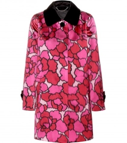 Marc Jacobs - Silk Jacquard Coat