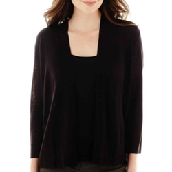 Worthington - Flyaway Cardigan Sweater