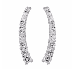 Dazzling Rock Collection - Crawler Climber Earrings