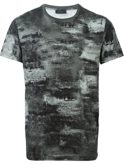 Belstaff - Marled Painted Effect T-Shirt