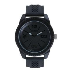 Zoo York  - Mens Round Silicone Strap Sport Watch