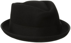 Dorfman Pacific - Wool Felt Diamond Crown Fedora Hat