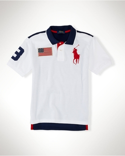 Polo Ralph Lauren - Big Pony Flag Cotton Polo