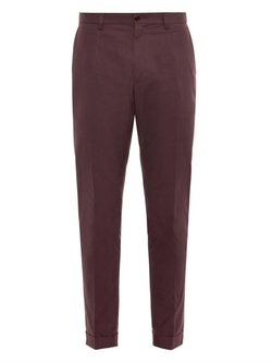 Dolce & Gabbana  - Cotton Chino Trousers