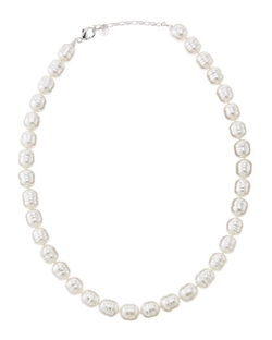Majorica - Faux-Pearl Collar Necklace