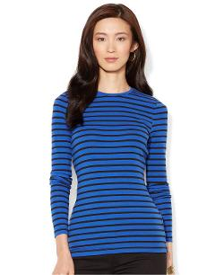 Ralph Lauren  - Long-Sleeve Striped Top
