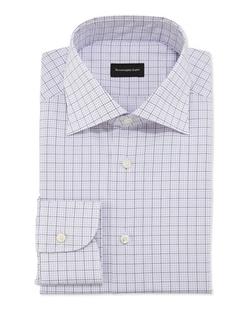 Ermenegildo Zegna - Graph Check Dress Shirt