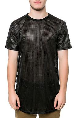 IMPRSSVE  - The Riccardo Mesh Jersey in Black