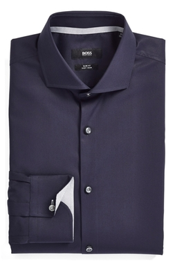 Boss - Solid Dress Shirt