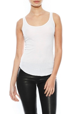 Enza Costa - Rib Baseball Tank Top