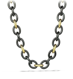 David Yurman  - Oval Extra-Large Link Necklace