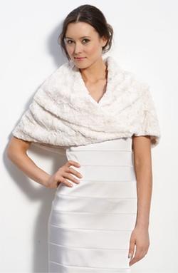 Eliza J - Faux Fur Stole