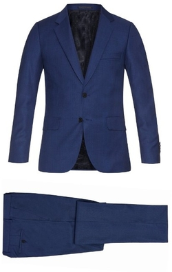 Paul Smith - Mayfair Prince of Wales Wool Suit