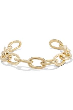 Jennifer Fisher  - XL Chain Link Gold Plated Choker