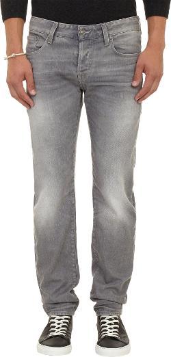 G-Star Raw  - Faded Denim Five-Pocket Jeans
