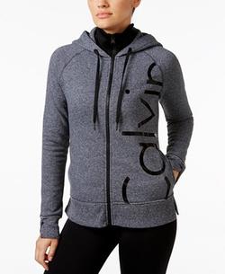 Calvin Klein - Performance Fleece Logo Hoodie