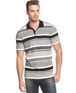 Alfani Black  - Chris Striped Polo