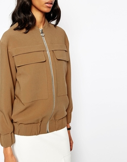 Asos  - Bomber Jacket With Formal Styling