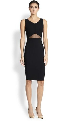 Akris - Cut-Out Double-Face Wool Dress