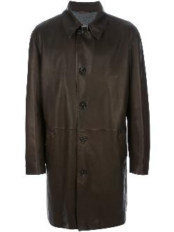 SERAPHIN  - leather trench