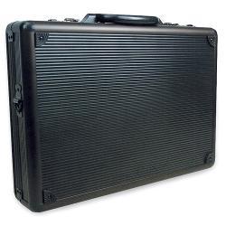 RoadPro  - SPC-941G Black Aluminum Briefcase