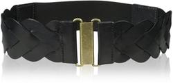 Elise M. - Skylar Leather Braided Belt
