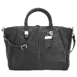 TRIBECA PEBBLED  - LEATHER SATCHEL