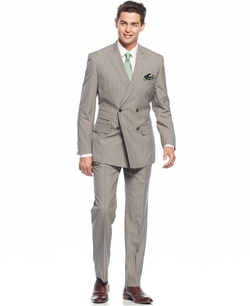 English Laundry - Peak Lapel Slim-Fit Double Breasted Suit