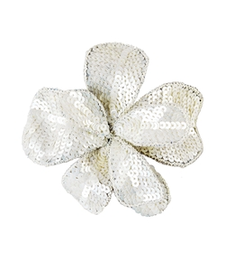 Jane Tran - Oversized Sequin Flower Clip