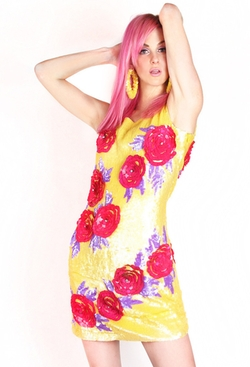 Patricia Field - G-Lish Blooming Dress