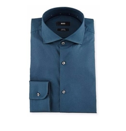 Boss Hugo Boss  - Jery Slim-Fit Solid Dress Shirt