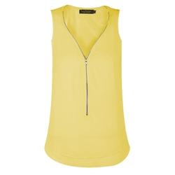 Envy Boutique - Front Zip Cami Vest Top