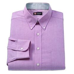 Chaps - Button-Down Collar Dress Shirt