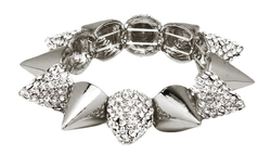 Cocoa Jewelry - Crystal Spike Bracelet