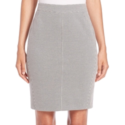 Akris Punto - Jersey Mini-Houndstooth Pencil Skirt
