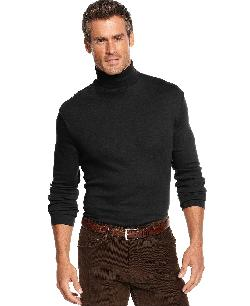 John Ashford - Turtleneck Interlock Shirt