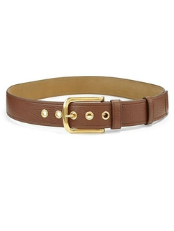 Prada  - Classic Daino Leather Belt