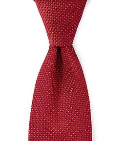 Hart Schaffner Marx - Textured Solid Silk Tie