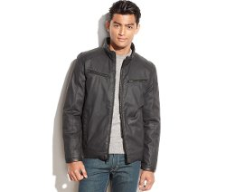 Vince Camuto  -  Reversible Quilted Moto Jacket