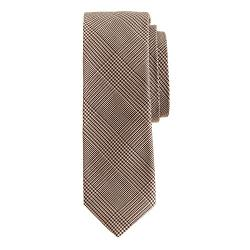 J.Crew - Italian Silk-Cotton Tie In Glen Plaid