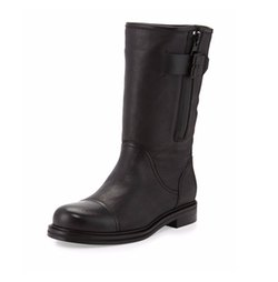 Aquatalia - Baily Leather Moto Boots